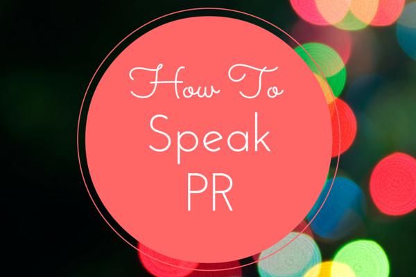 PR Blog Post